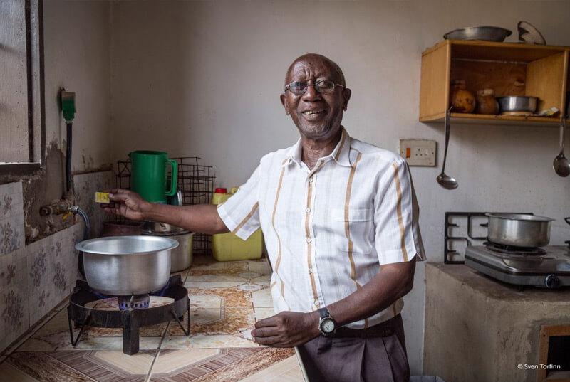 Biogasproject in Oeganda
