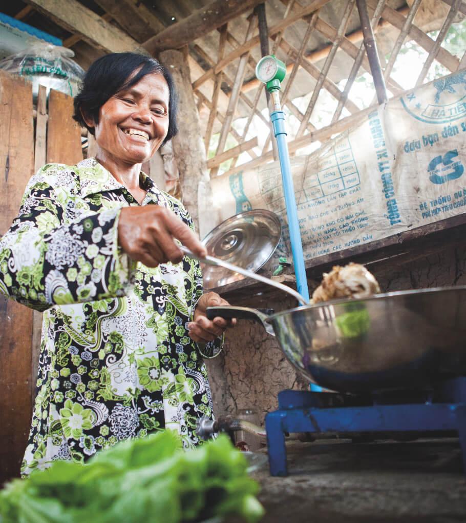 Biogas Cambodja