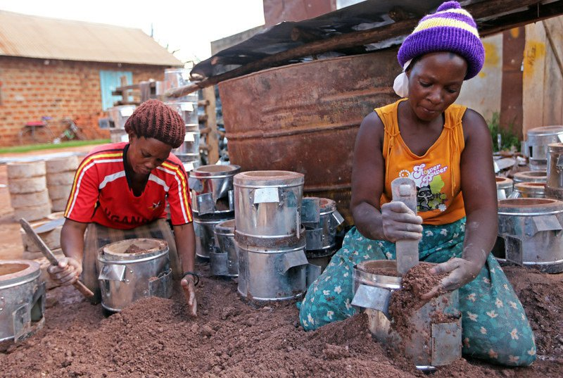Cookstoves in Oeganda