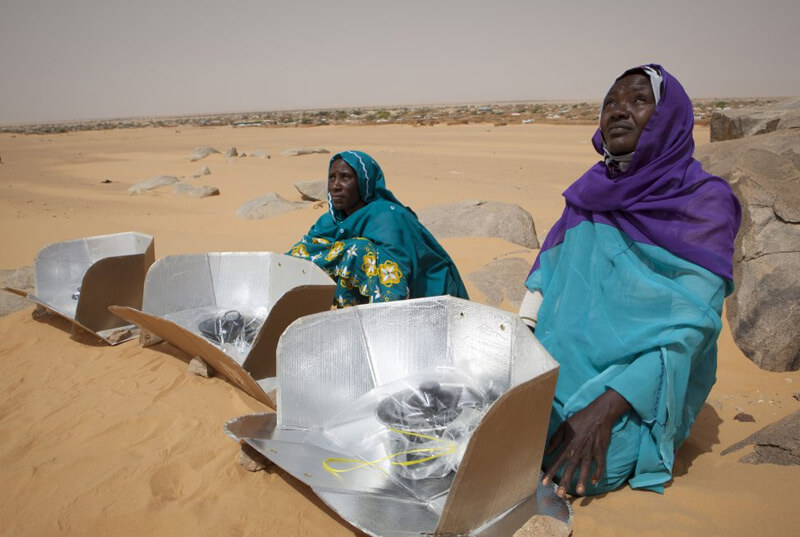 Solar cookers Tsjaad